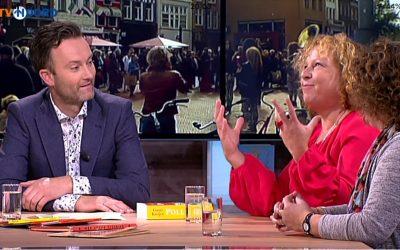 De Duitser Astrid Brouwer uit Veendam legt bij RTV Noord uit waarom Duitsers graag naar Groningen komen