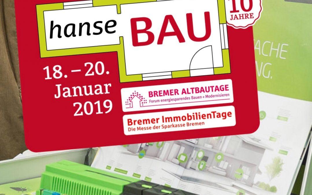 10e bouwbeurs in Bremen van 18 t / m 20 januari. HanseBAU ook interessant voor Nederlandse bouwers